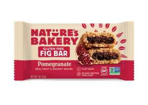 Gluten Free Fig Bars Pomegranate