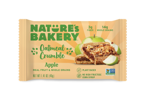 Oatmeal Crumble Bars Apple