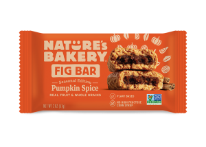 Whole Wheat Fig Bars Pumpkin Spice