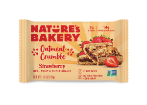 Oatmeal Crumble Bars Strawberry