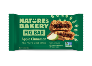 Whole Wheat Fig Bars Apple Cinnamon