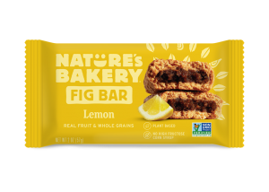 Whole Wheat Fig Bars Lemon