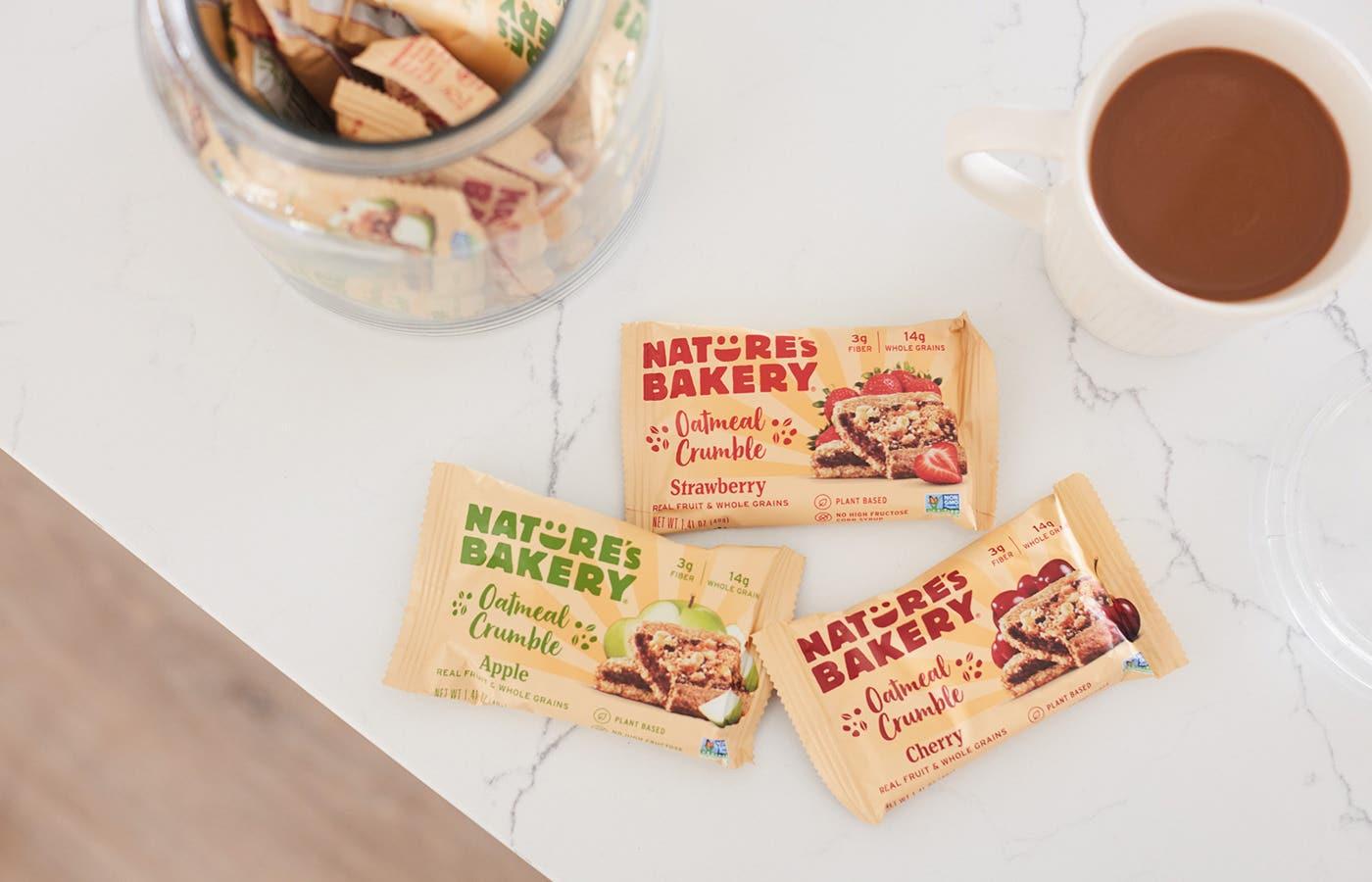 Natures Bakery Oatmeal Crumble Bars